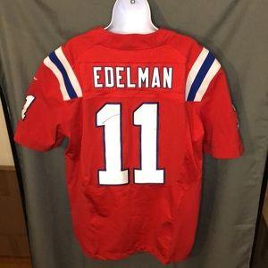 Nike New England Patriots Julian Edelman Jersey
